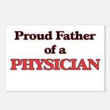 Proud Father of a Physici Postcards (Package of 8)