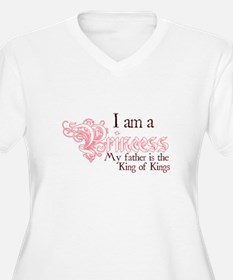 I am a Princess Plus Size T-Shirt