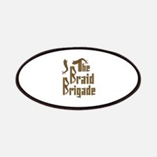 Braid Brigade Patch