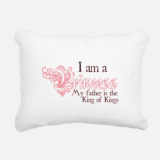 I am a Princess Rectangular Canvas Pillow