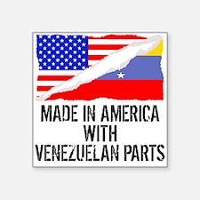 Made In America With Venezuelan Parts Sticker