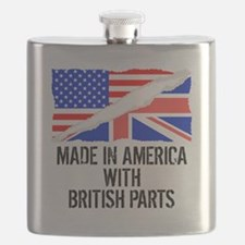 Made In America With British Parts Flask