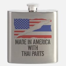 Made In America With Thai Parts Flask