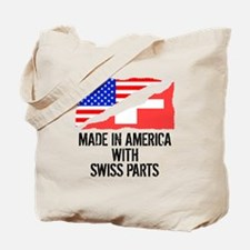 Made In America With Swiss Parts Tote Bag