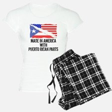Made In America With Puerto Rican Parts Pajamas