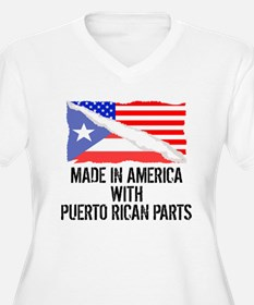Made In America With Puerto Rican Parts Plus Size