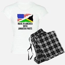 Made In America With Jamaican Parts Pajamas