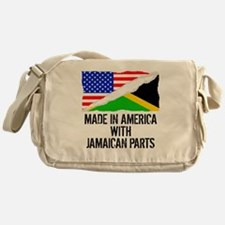 Made In America With Jamaican Parts Messenger Bag