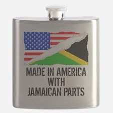 Made In America With Jamaican Parts Flask