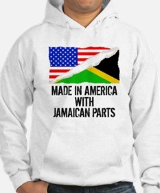 Made In America With Jamaican Parts Hoodie