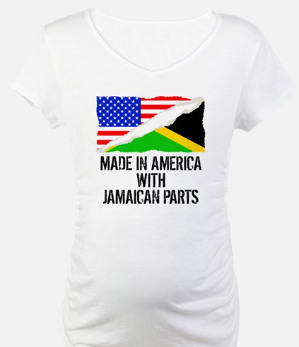 Made In America With Jamaican Parts Shirt