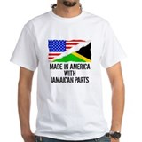 Jamaica Mens White T-shirts