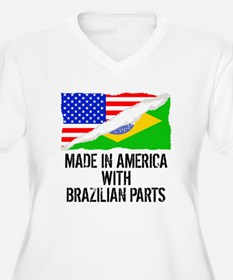 Made In America With Brazilian Parts Plus Size T-S