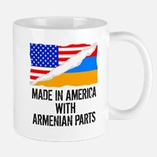 Made In America With Armenian Parts Mugs
