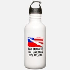 Half Taiwanese Half American Awesome Water Bottle