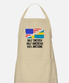 Half Swedish Half American Awesome Apron