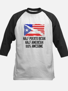 Half Puerto Rican Half American Awesome Baseball J