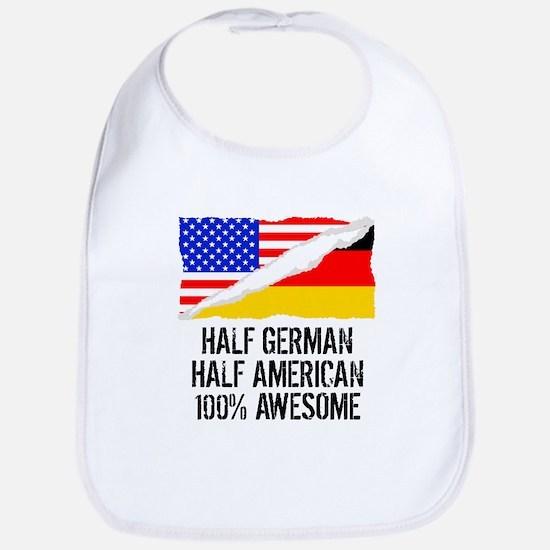 Half German Half American Awesome Bib