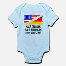 Half German Half American Awesome Body Suit