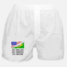 Half Brazilian Half American Awesome Boxer Shorts