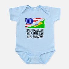 Half Brazilian Half American Awesome Body Suit