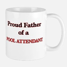 Proud Father of a Pool Attendant Mugs