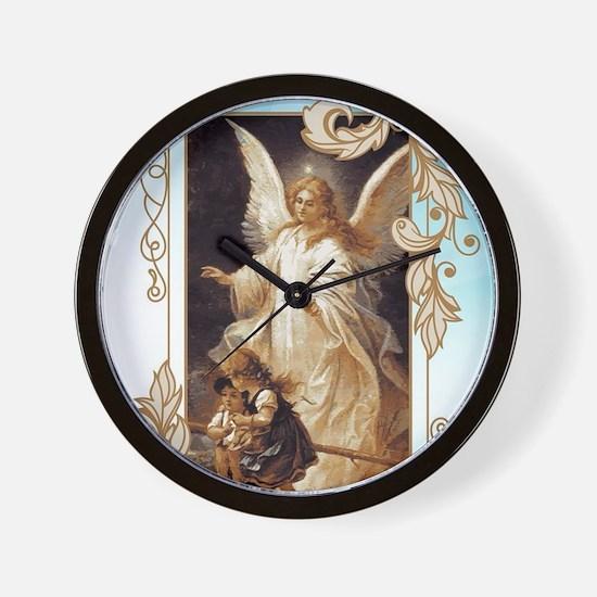 Angel of God (Day) Wall Clock