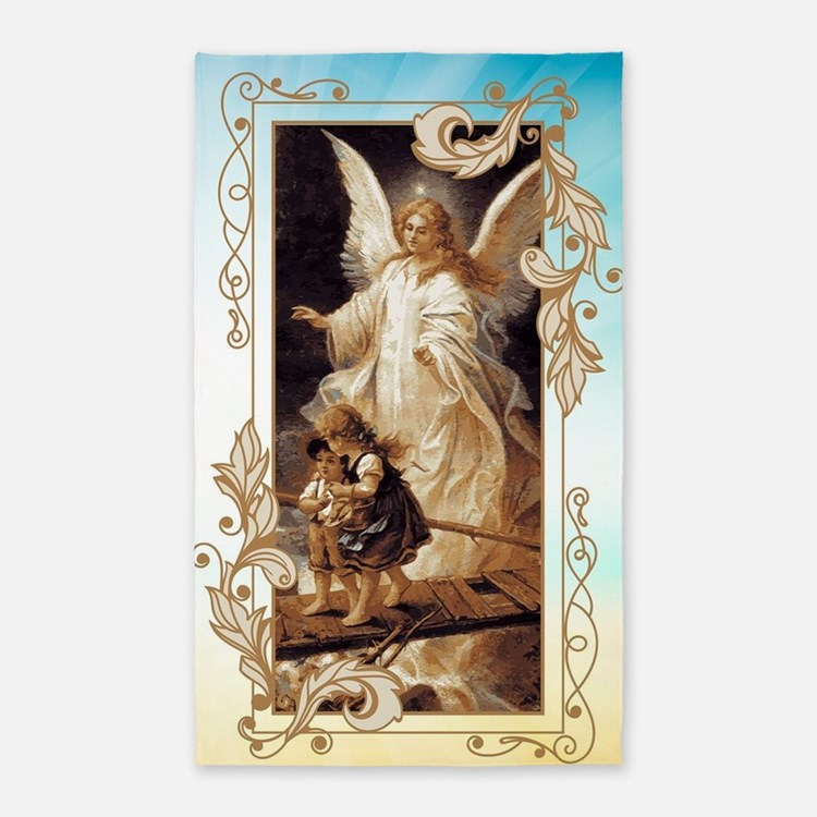 Angel of God (Day) Area Rug