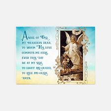 Angel of God (Day) 5'x7'Area Rug