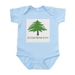 It's Easy Being Green Infant Bodysuit / Onesie