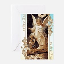 Angel of God (Day) Greeting Cards