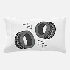 Car Tires Pillow Case