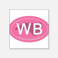 "Cute The wb Square Sticker 3"" x 3"""