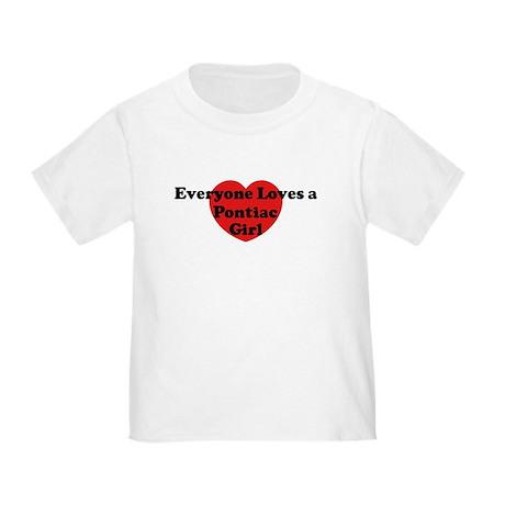 Pontiac girl Toddler T-Shirt