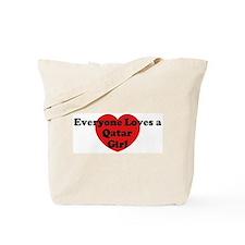 Qatar girl Tote Bag