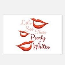 Pearly Whites Postcards (Package of 8)