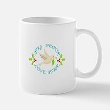 Joy Peace Love Hope Mugs
