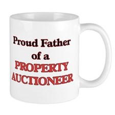 Proud Father of a Property Auctioneer Mugs