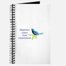 Happiness Comes From Journal