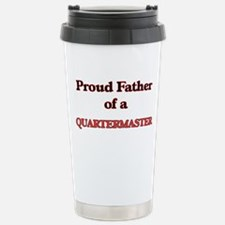 Proud Father of a Quart Stainless Steel Travel Mug