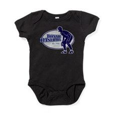 Unique Baseball hall of fame media Baby Bodysuit