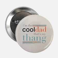 """Modern Family Cool Dad Round 2.25"""" Button"""