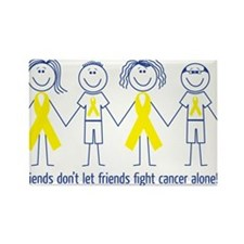 Funny Cancer Rectangle Magnet (10 pack)