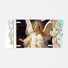 Angel of God (Day) Aluminum License Plate