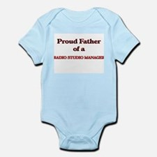 Proud Father of a Radio Studio Manager Body Suit
