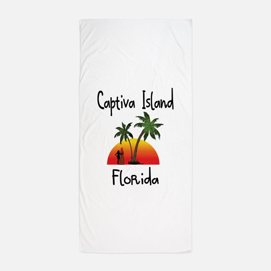 Captiva Florida Beach Towel