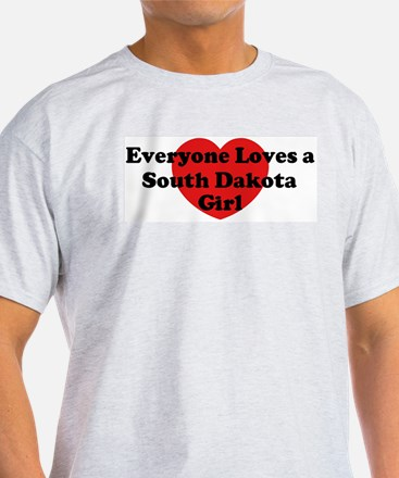 South Dakota girl T-Shirt
