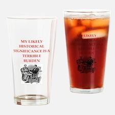 221b joke on gifts and t-shirts. Drinking Glass