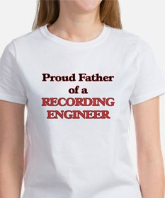 Proud Father of a Recording Engineer T-Shirt