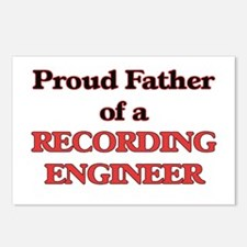 Proud Father of a Recordi Postcards (Package of 8)